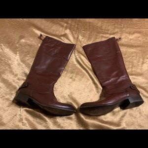 Frye Boots Womens 8M Brown